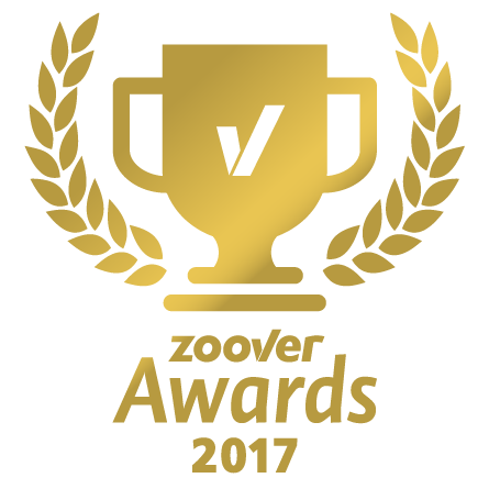Zoover 2018 award winner gold